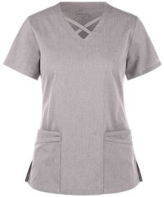 Be fashionable and flexible all day long with the UA Butter-Soft STRETCH Criss Cross Scrub Top. Find great fashion scrub tops today, only at Uniform Advantage! Scrubs Outfit, Scrubs Uniform, Criss Cross, Yoga Scrub Pants, Girl Fashion, Fashion Looks, Cherokee Scrubs, Scrub Tops, Trends