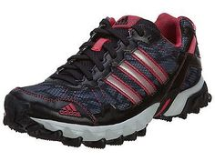 Adidas Thrasher 1.1 Womens C76331 Black Berry Trail Running Shoes Wmns Size 10