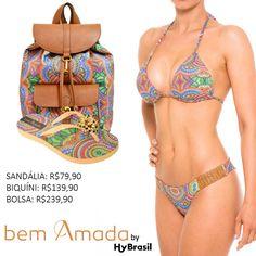 Combinando etnias e culturas ao redor do mundo, a Bem Amada juntamente com a Hy Brasil criaram estampas exclusivas para você ficar linda na praia. Confira na Adoro Presentes.