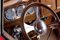 1937 Ford Steering Wheel