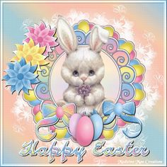 Happy Easter Bunny | Happy Easter Comments/Glitter Graphics