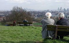 Parliament Hill, Hampstead Heath, north London, England