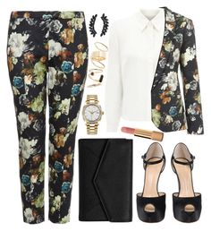 """""""Untitled #4195"""" by natalyasidunova ❤ liked on Polyvore featuring Topshop, Eastex, Giuseppe Zanotti, LULUS, Rolex, BP., Cristabelle and Chanel"""