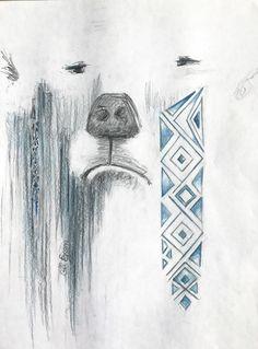 Totem — white bear.