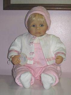 Colette Cecilia Doll By Zapf Creations 20 Inch Original
