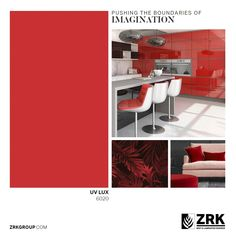 Solid colors for people of taste! ZRK UV LUX boards are the best choice for any kind of space; be it a kitchen, your office, or the entire house. Retail Fixtures, Bath Cabinets, Laminated Mdf, Kitchen And Bath, Solid Colors, Boards, Space, Storage, Interior