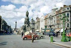Dublin, Republic of Ireland Dublin Street, Dublin City, Dublin Ireland, Ireland Travel, Old Pictures, Old Photos, Vintage Photos, Images Of Ireland, Irish Culture