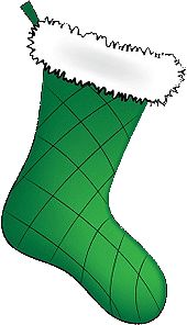 christmas stockings clipart - Google Search
