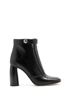 Block Heel Zip Ankle Boots by Marc Jacobs
