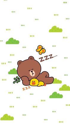 Friends Wallpaper, Bear Wallpaper, Lines Wallpaper, Wallpaper Iphone Cute, Kawaii Wallpaper, Cellphone Wallpaper, Cute Love Pictures, Cute Love Gif, Cute Cartoon Images
