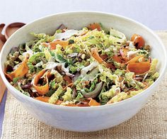 Middle Eastern cabbage salad recipe.jpg I wouldn't use the yoghurt in dressing.