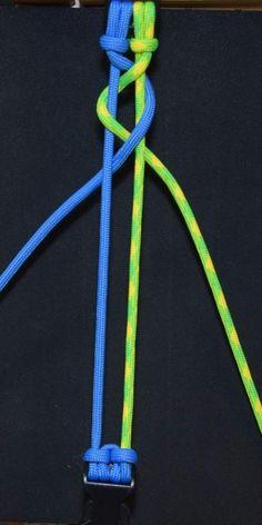 How to Make a Snake Knot Viceroy (Paracord) Bracelet by TIAT Yarn Bracelets, Diy Bracelets Easy, Bracelet Crafts, Braided Bracelets, Paracord Bracelets, Parachute Cord Bracelets, Lanyard Bracelet, Paracord Bracelet Instructions, Paracord Tutorial