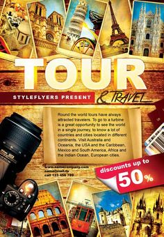 Organize The Most Phenomenal Tour With Our Free Barcelona Psd - Vacation tour and travel
