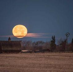 prairie moon in Canada