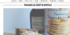 Pancake au sirop de myrtille - Sophie's Store by Laura de Olly Magazine