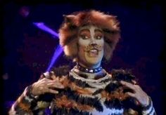 Mungojerrie is very similar to Rumple. Brown, orange, white tabby, except with more masculine features (eyebrow design, shape of the white mask)