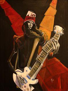 Buckethead On Stage by mtzeilman
