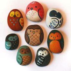 Cute painted stones