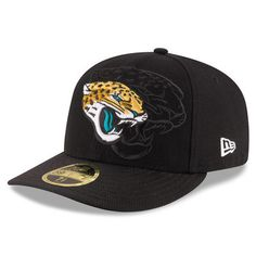 6276cad2b New Era Jacksonville Jaguars Black 2016 Sideline Official Low Profile  59FIFTY Fitted Hat