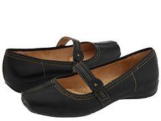 I WANT MY WONDERS BACK. >:(    Naturalizer Referee Black Leather - Zappos.com Free Shipping BOTH Ways