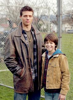 Brock Kelly and Colin Ford as young Dean Winchester and Sam Winchester
