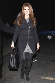 Kirstie Alley, Chaz Bono attend Dancing with the Stars afterparty