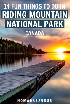 Here are all the fun things to do in Riding Mountain National Park in Manitoba Canada! Canada National Parks, Parks Canada, Canada Canada, Visit Canada, Alberta Canada, Riding Mountain National Park, Backpacking Canada, Canadian Travel, Adventure Travel