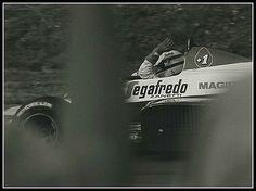 https://flic.kr/p/hyMuw   Ayrton Senna Toleman 3rd in British GP   Ayrton Senna in the  Toleman F1 after coming 3rd at Brands Hatch in 1984