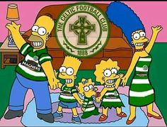The 'Celtic' Simpsons