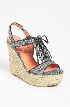 LOVE THESE wedge sandals from Nordstrom (Via Spiga 'Kassiana') how stinkin' adorable can ya get?