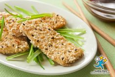 Sesame Crusted Tofu | 2 Guiding Stars