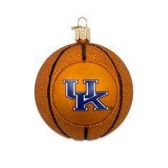 UK Basketball Ornament