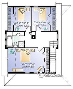 Modelo casa con galería exterior