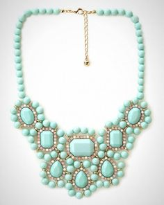 Add this fresh, minty pick to your accessory collection.