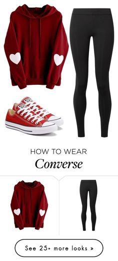 """kokos"" by coconutlady-573 on Polyvore featuring Converse, The Row and converse"