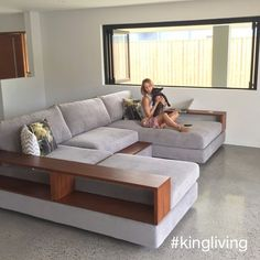 Thanks to @dylangarft for sharing this gorgeous #KingLiving photo. #InteriorDesign #Home #Design