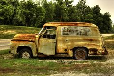 Ancient Delivery Truck (HDR Color) by Joshua Koch on 500px