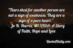 Jos姓 N. Harris, MI VIDA: A Story of Faith, Hope and Love Quote - More at QuotedDaily.com