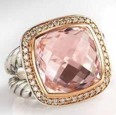 David Yurman pink and gold