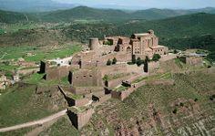 Parador of Cardona : Mediaeval Castle with Tower and Romanesque Church