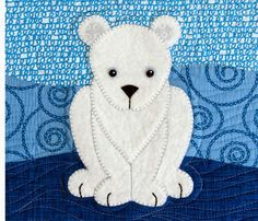 betz white: Polar Babies Quilt and Pillow pattern
