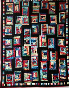 Mile a minute child's quilt by Tandy Wolffers - fantastic