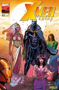 Couverture de X-Men Extra -62- L'élue de la Panthère (2)