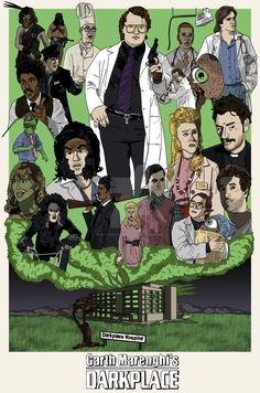 Garth Marenghi's Darkplace by PotteringAbout