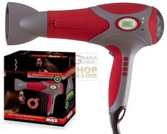 MAX ASCIUGACAPELLI RED APPEAL DIG.ION 2000W http://www.decariashop.it/home/9896-max-asciugacapelli-red-appeal-digion-2000w.html