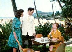 Blue Hawaii - love her dress
