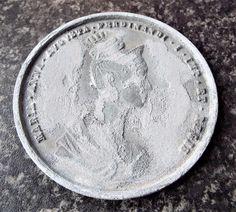 Antique Maria Anna Augusta Austria Hungary Coronation Medal / Medallion Hungary, Austria, Anna, Personalized Items, Antiques, Antiquities, Antique