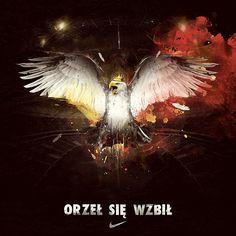 Polish Eagle Polish Symbols, First Haircut, Nike Football, Future Tattoos, Tattoo Inspiration, Eagles, Poland, Illustrators, History