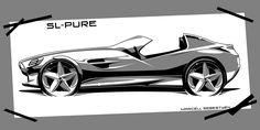 marcell sebestyen: Mercedes SL-Pure / 2012