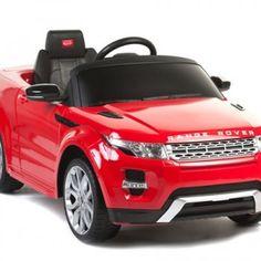 Carrito Electrico Range Rover Rojo Control Remoto